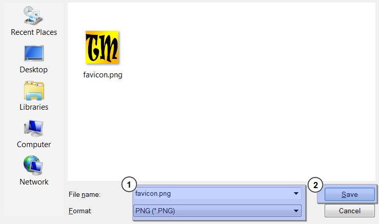 Как сделать файлы ico