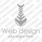 Logo Vorlage für Web Design