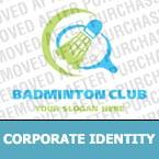 Badminton Corporate Identity Template