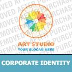 Art Studio Corporate Identity Template