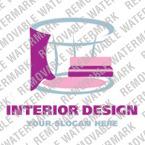 Logo Vorlage für Innenarchitektur