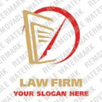 Logo Vorlage für Anwaltskanzlei