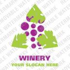 Logo Vorlage für Kellerei