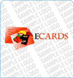 E-cards Logo Template