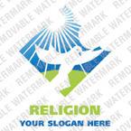 Logo Vorlage für Religiöse