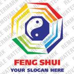 Logo Vorlage für Feng Shui