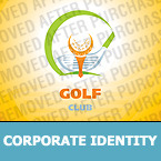 Golf Corporate Identity Template