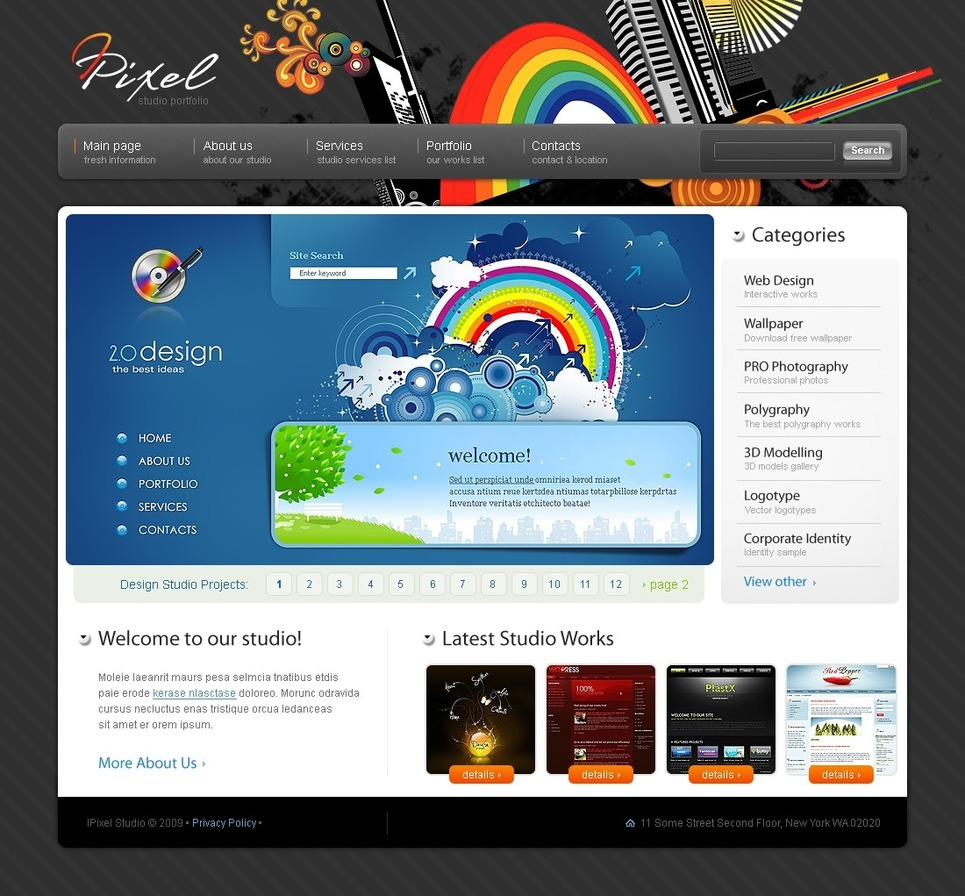 Website designs and deliver compelling and creative website designs registered