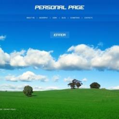 SWiSH Vorlage für Designer Portfolio