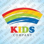 Logo Vorlage für Kindercenter