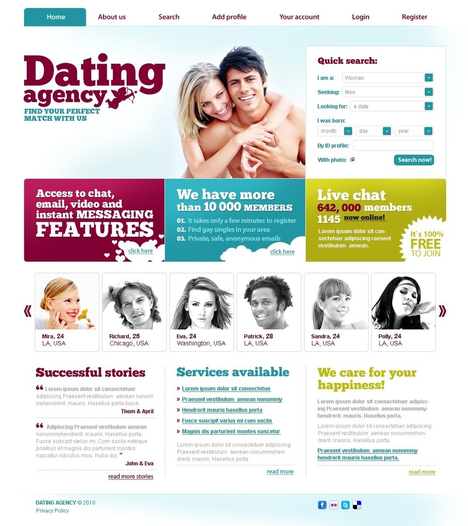 young dating websites