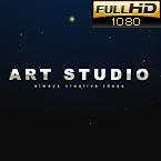 After Effects Logo Reveal für Kunstatelier