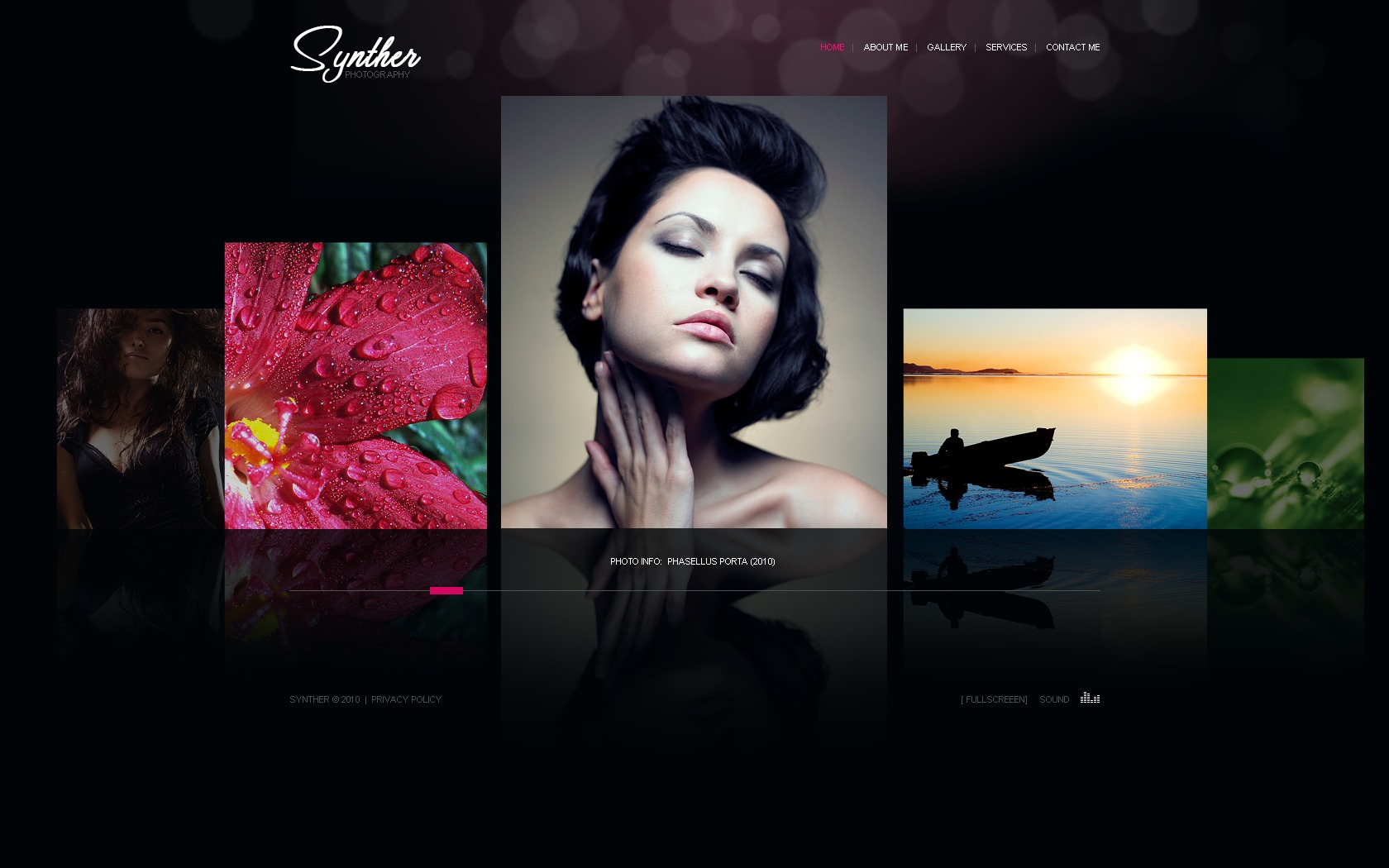 WEB DESIGN SERVICE, WEB DESIGN PORTFOLIO - CreatingOnline Flash photography portfolio template