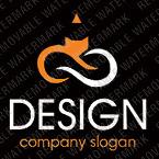 Logo Vorlage für Designstudio