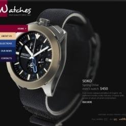 Flash CMS Vorlage für Uhren
