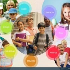 SWiSH Vorlage für Kindercenter