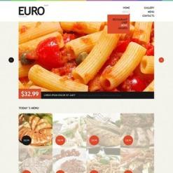 Drupal Vorlage für European Restaurant