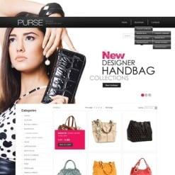 Flash CMS Vorlage für Handtasche