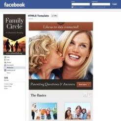 Facebook Vorlage für Familienzentrum