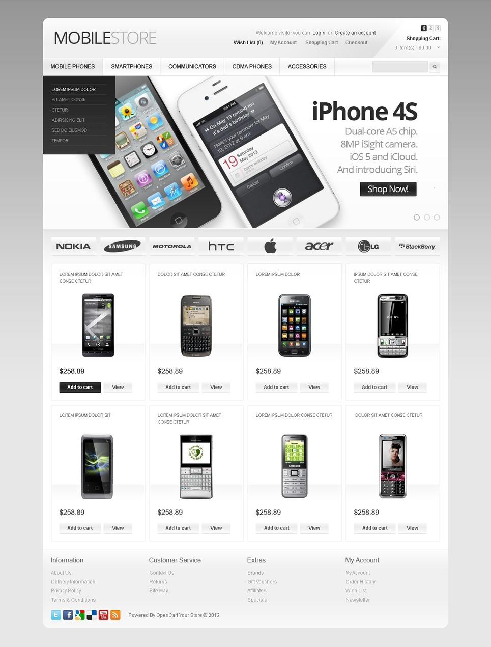 Десять сайт телефонов