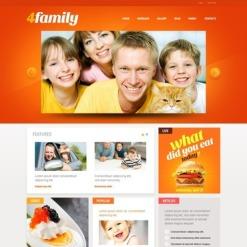 Drupal Vorlage für Familienzentrum