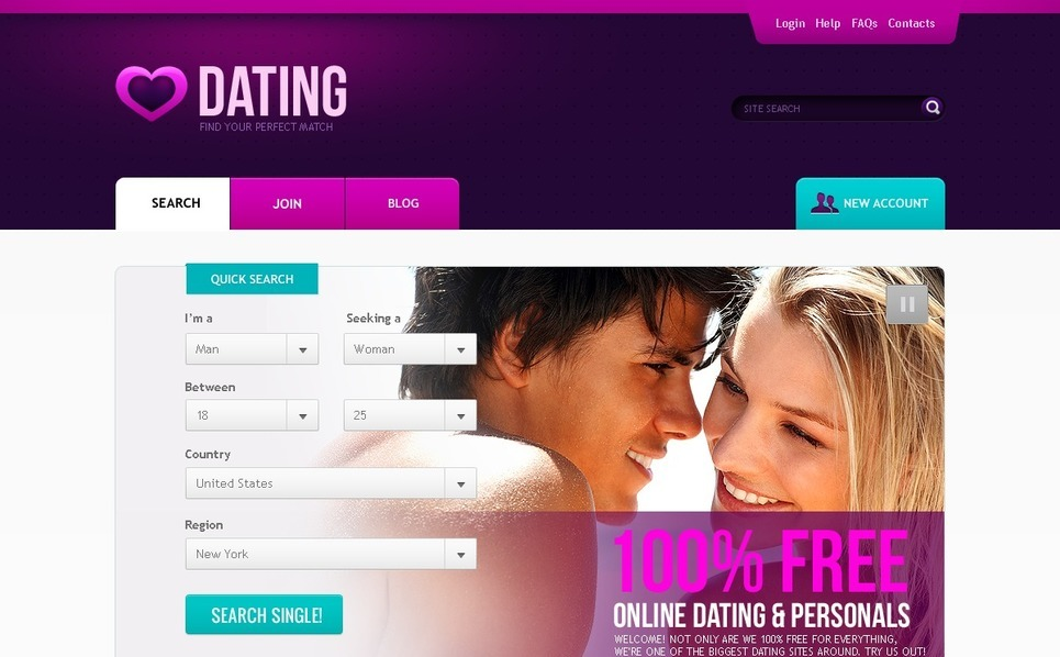 Dating site network
