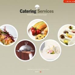 Flash CMS Vorlage für Gastronomie Vorlage