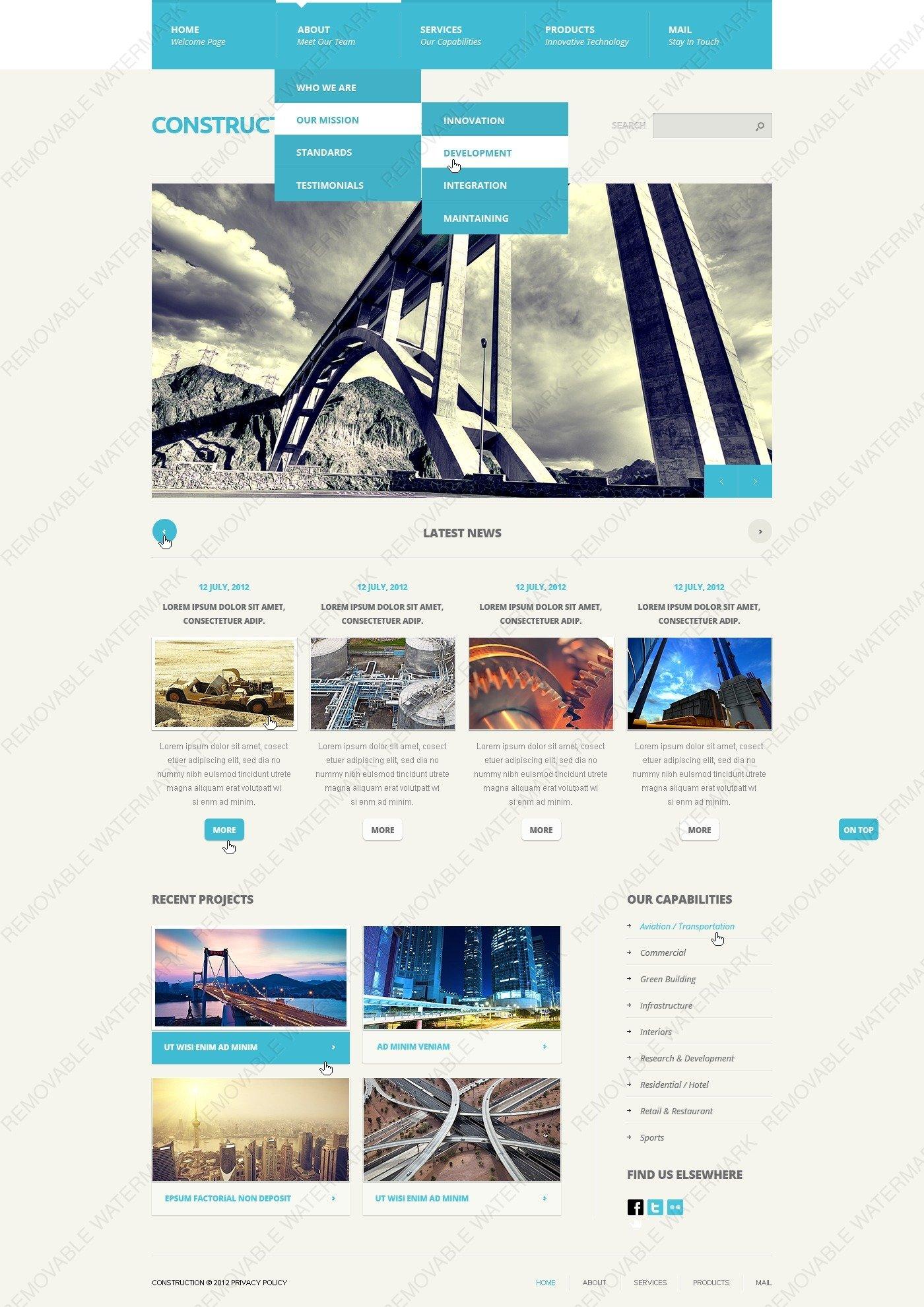 20 free under construction website templates free download 30 best