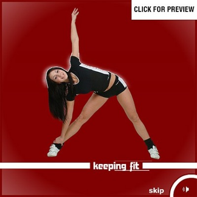 Fitness Flash Intro шаблон