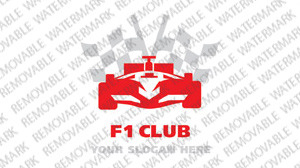 F1 Logo Template