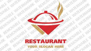Logo Vorlage für Cafe und Restaurant
