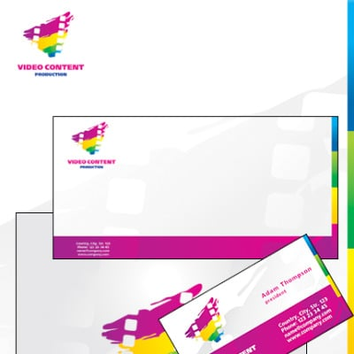 Video Gallery Corporate Identity Template