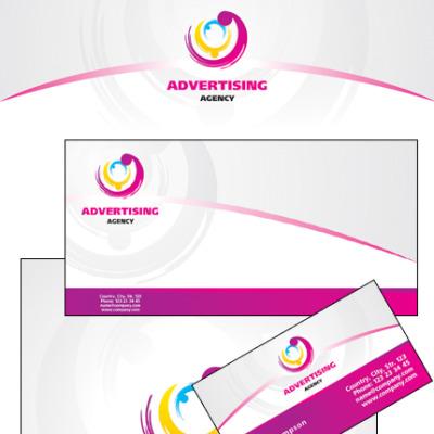 Plantilla De Identidad Corporativa #24103 para Sitio de Agencia de publicidad