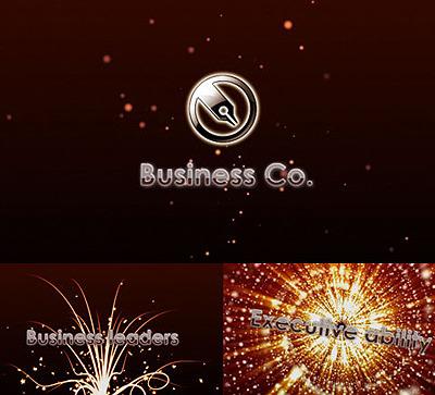 Szablon Intro Flash #25474 na temat: biznes i usługi