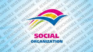 Social Foundation Logo Template