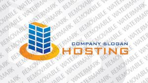 Logo Vorlage für Hosting