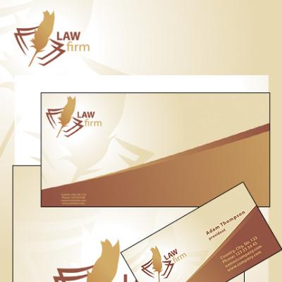 Law Firm 企业设计模板