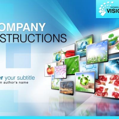 Plantilla De Identidad Corporativa #31458 para Sitio de Agencia de publicidad