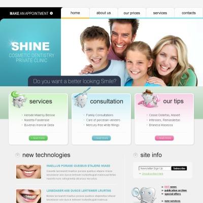SWiSH Vorlage für Zahnmedizin