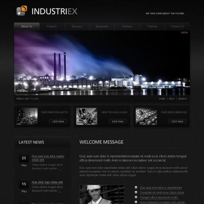 Modèle SWiSH  pour site industriel