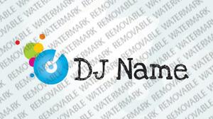 Plantilla De Logotipo #33528 para Sitio de DJ