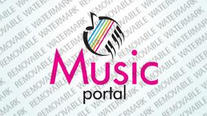 Plantilla De Logotipo #34148 para Sitio de Música