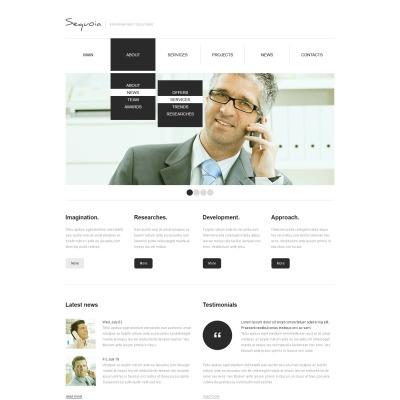 Plantilla Web #38977 para Sitio de Negocio y Servicios
