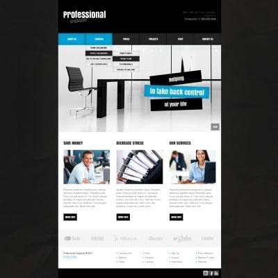 Plantilla Web #38978 para Sitio de Oficina