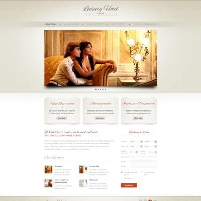 Hotels Weboldal Sablon