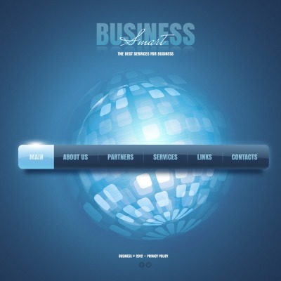 Szablon Facebook Flash CMS #41177 na temat: biznes i usługi