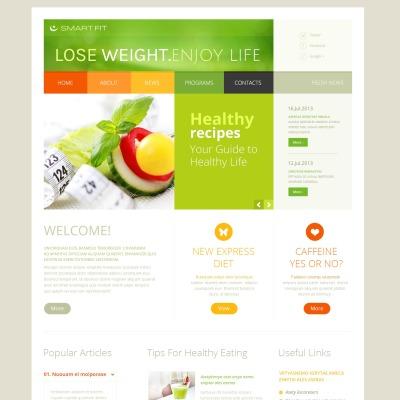 Weight Loss Responsive Joomla Template