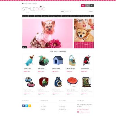 Dog Responsive PrestaShop Theme