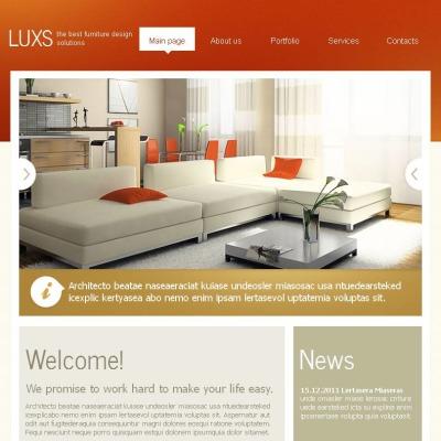 Facebook HTML CMS Vorlage für Möbel