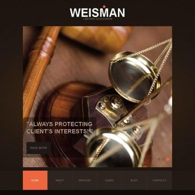 Law Firm Tema Facebook HTML CMS